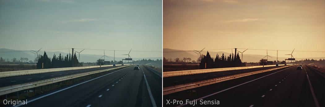 X-Pro Fuji Sensia