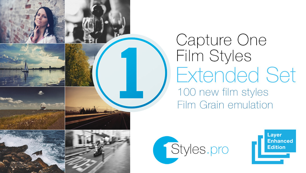 Capture One Film Styles Extended Set | Styles and presets for