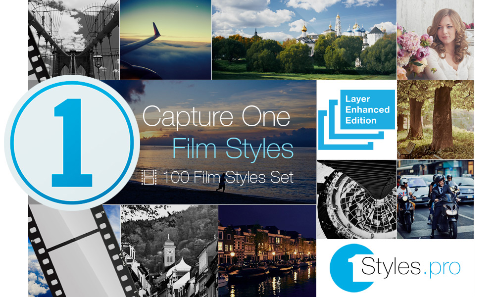 Original Film Styles Set | Styles and presets for Capture One